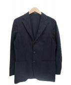 BEAMS F(ビームスエフ)の古着「ウール・レーヨンテーラードジャケット」 ネイビー
