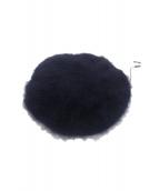Maison MIHARA YASUHIRO × CA4LA(メゾン ミハラヤスヒロ × カシラ)の古着「コラボウールベレー帽」|ネイビー