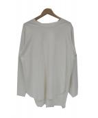 IENA(イエナ)の古着「ラウンドテールロングTシャツ」|ホワイト