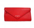 BALENCIAGA(バレンシアガ)の古着「長財布」|レッド