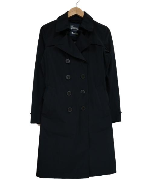 HERNO(ヘルノ)HERNO (ヘルノ) ゴアテックストレンチコート ネイビー サイズ:40の古着・服飾アイテム