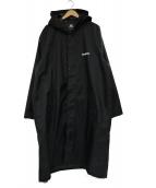 VETEMENTS(ヴェトモン)の古着「レインコート」 ブラック