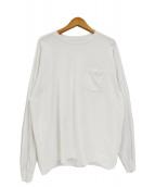 KAPTAIN SUNSHINE(キャプテン サンシャイン)の古着「ウェストコーストL/S Tシャツ」|ホワイト