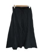 SOU・SOU(ソウソウ)の古着「伊勢木綿サルエルパンツ」|ブラック
