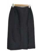 CELFORD(セルフォード)の古着「Aラインスカート」|ネイビー
