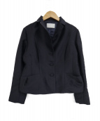 CELFORD(セルフォード)の古着「シルクウールジャケット」|ネイビー