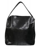 HIROFU(ヒロフ)の古着「ワンショルダーレザーバッグ」|ブラック