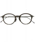 Thom Browne(トムブラウン)の古着「伊達眼鏡(メガネフレーム)」|シルバー