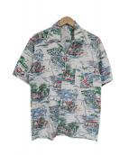 VISVIM(ヴィスヴィム)の古着「サンシャインデュークアロハシャツ」|ホワイト