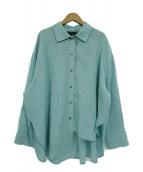 MINITZ(ミニッツ)の古着「リネンシャツ」 スカイブルー