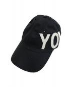 Y-3(ワイスリ)の古着「Yohjiキャップ」 ブラック