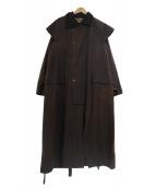 Barbour(バブアー)の古着「ストックマンオイルドコート」|ブラウン
