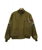 THE REAL McCOYS(リアルマッコイズ)の古着「タンカーズジャケット」|オリーブ