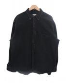 BEAUTY&YOUTH(ビューティーアンドユース)の古着「オーバーサイズデニムシャツ」|ブラック