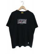 FR2(エフアールツー)の古着「プリントTシャツ」 ブラック