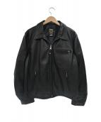 Schott(ショット)の古着「カウレザーシングルライダースジャケット」|ブラック
