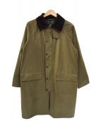 Barbour(バブアー)の古着「ステンカラーコート」|ブラウン