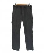 FCRB(エフシーアールビー)の古着「サイドファスナー付ウォームアップパンツ」 グレー