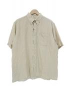 HERMES(エルメス)の古着「S/Sリネンシャツ」|ベージュ