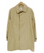FIDELITY(フィデリティ)の古着「ステンカラーコート」|ベージュ