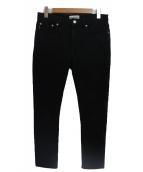 BALENCIAGA(バレンシアガ)の古着「ストレッチスキニーデニムパンツ」 ブラック