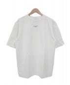 DROLE DE MONSIEUR(ドロール ド ムッシュ)の古着「ワイドシルエットNFPMTシャツ」|ホワイト