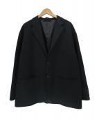 BEAMS(ビームス)の古着「コットン バックツイル イージージャケット」|ブラック