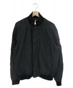 POLO RALPH LAUREN(ポロラルフローレン)の古着「ジップアップブルゾン」|ブラック