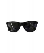 ()の古着「フロッグスキンサングラス」|ブラック