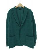 Brioni(ブリオーニ)の古着「シルク混2Bテーラードジャケット」|グリーン