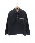 F.O.B FACTORY(エフオービー ファクトリー)の古着「プルオーバーデニムジャケット」|インディゴ