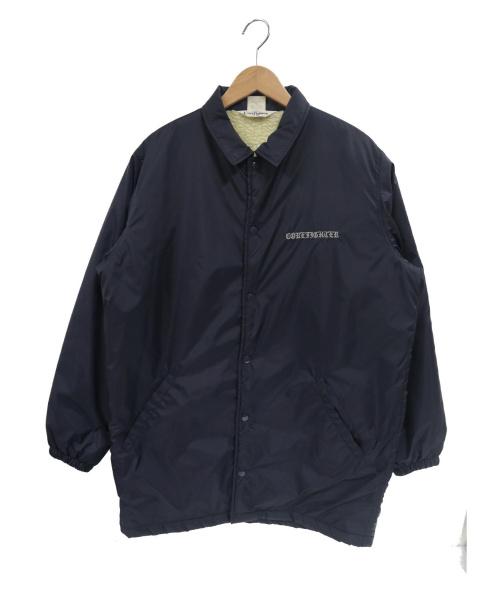 COREFIGHTER(コアファイター)COREFIGHTER (コアファイター) 裏ボアロングコーチジャケット ネイビー サイズ:Lの古着・服飾アイテム