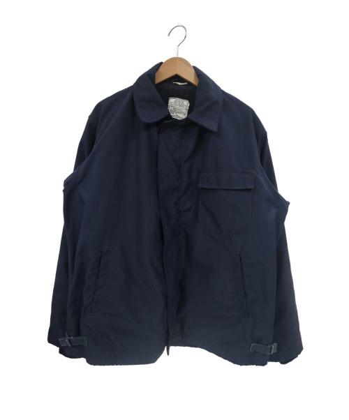 US NAVY(ユーエスネイビー)US NAVY (ユーエスネイビー) 90sアラミドデッキジャケット ネイビー サイズ:Lの古着・服飾アイテム