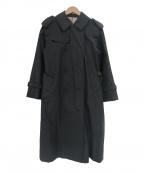 GRENFELL(グレンフェル)の古着「ベルト付きトレンチコート」|グレー