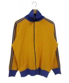 adidas(アディダス)の古着「【古着】80sトラックジャケット」|イエロー×ブルー