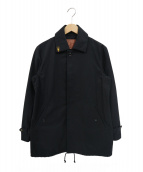 GANGSTERVILLE(ギャングスタビル)の古着「襟刺繍コットンカバーオール」|ブラック