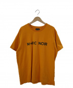 M+RC NOIR(マルシェノア)の古着「ロゴプリントTシャツ」|オレンジ