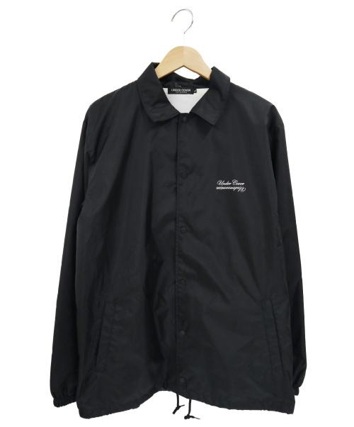 UNDERCOVER(アンダーカバー)UNDERCOVER (アンダーカバー) MANIACバックプリントコーチジャケット ブラック サイズ:Lの古着・服飾アイテム