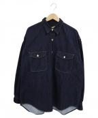 seven by seven(セブンバイセブン)の古着「デニムタックシャツ」 インディゴ