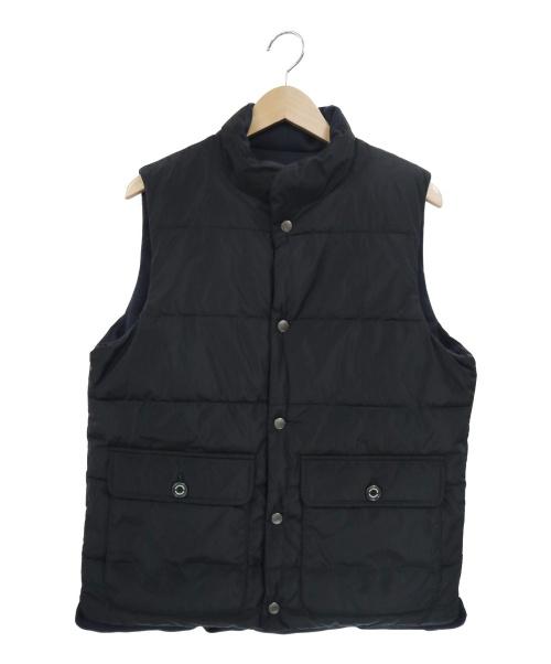 MACKINTOSH(マッキントッシュ)MACKINTOSH (マッキントッシュ) リバーシブルダウンベスト ブラック サイズ:40の古着・服飾アイテム