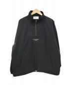 DROLE DE MONSIEUR(ドロールドムッシュ)の古着「ハーフジッププルオーバージャケット」|ブラック