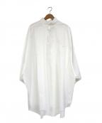 ROTOL(ロトル)の古着「トゥービッグハーフスリーブシャツ」 ホワイト