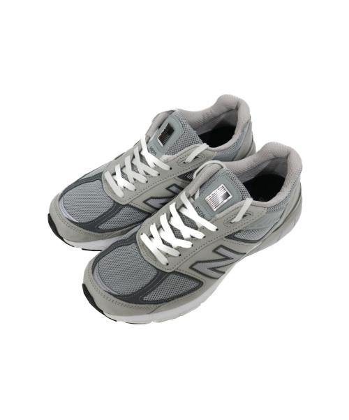 NEW BALANCE(ニュー・バランス)NEW BALANCE (ニュー・バランス) スニーカー グレー サイズ:27 M990IG5の古着・服飾アイテム