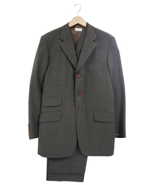 Paul Smith(ポールスミス)Paul Smith (ポールスミス) 3ピースセットアップスーツ グレー サイズ:Mの古着・服飾アイテム