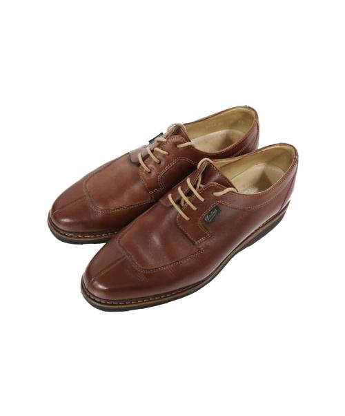 PARABOOT(パラブーツ)PARABOOT (パラブーツ) Uチップシューズ ブラウン サイズ:SIZE 5 1/2 4243 02の古着・服飾アイテム