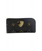 ATAO(アタオ)の古着「L字ファスナー長財布」|ブラック