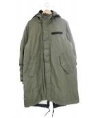 NIKE(ナイキ)の古着「中綿シンセティックパーカーコート」|カーキ