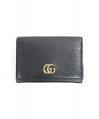GUCCI(グッチ)の古着「GGプチマーモントカードケース」|ブラック