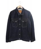THE FLAT HEAD(ザフラットヘッド)の古着「デニムジャケット」|インディゴ