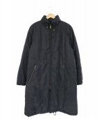 Burberrys(バーバリーズ)の古着「ヴィンテージ中綿コート」|ブラック